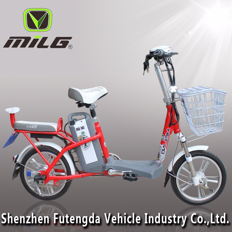 25 Miles per Charge15 MPH Speed Adult Electric Bicycle/Scooter Kick Scooter