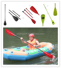 Plastic adjustable Kayak paddle low cost