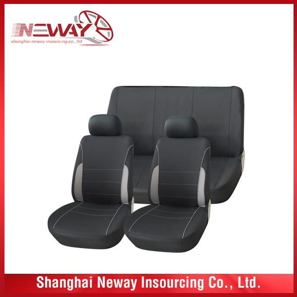 Cost price economic custom made leather car seat cover