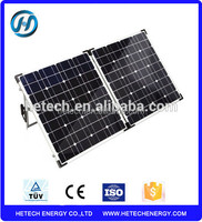 Best sales factory customized for Australia market 60w 80W 100W 120W 160W Portable outdoor 120w foldable solar panel