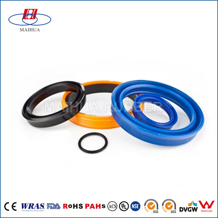 Good quality custom SILICONE NBR hydraulic wiper seal