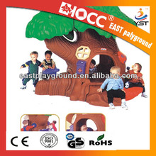 2014 kids outdoor playground cheap plastic playhouses for sale