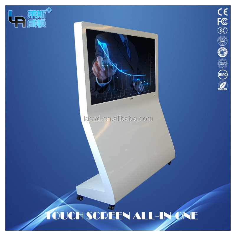 guangzhou 55 inch Android L-Type Vertical Infrared Touch Screen All-in-one PC