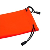 Smooth Microfiber Pouch With Drawstring