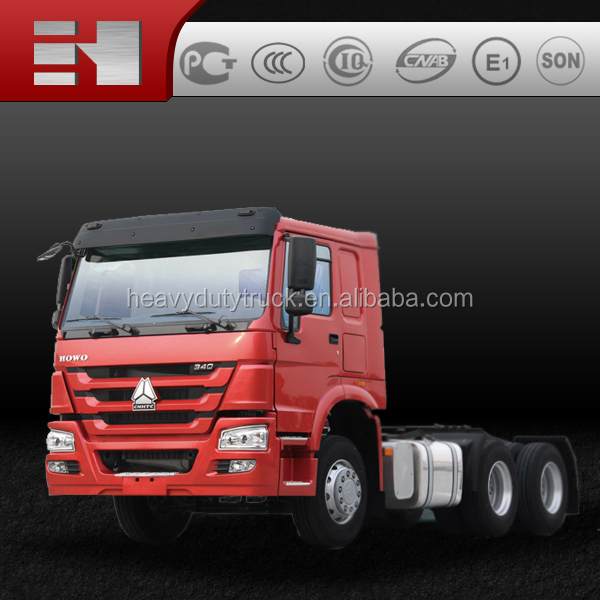 sinotruk howo heavy duty tractor trucks, 371hp 6X4 10 wheeler 6x4 truck for sale