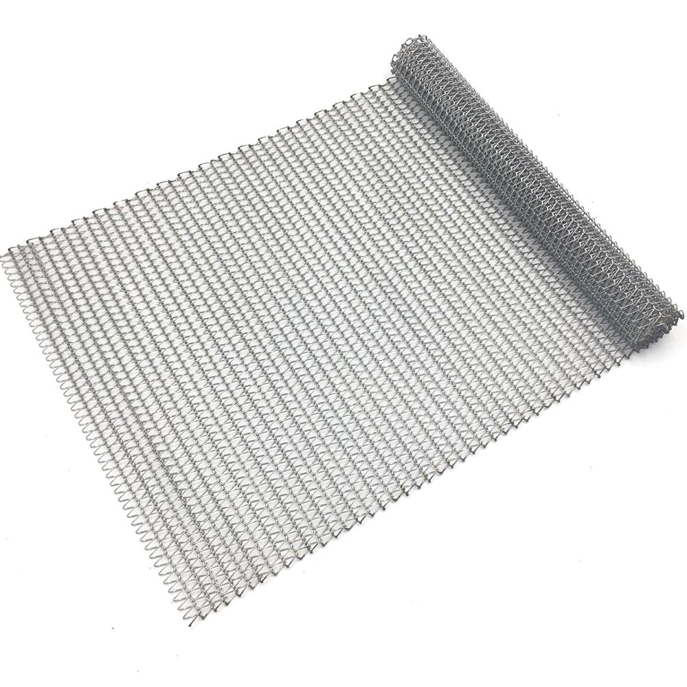 Factory Customized Stainless Steel Wire Mesh Belt Conveyor Flat Flex ...