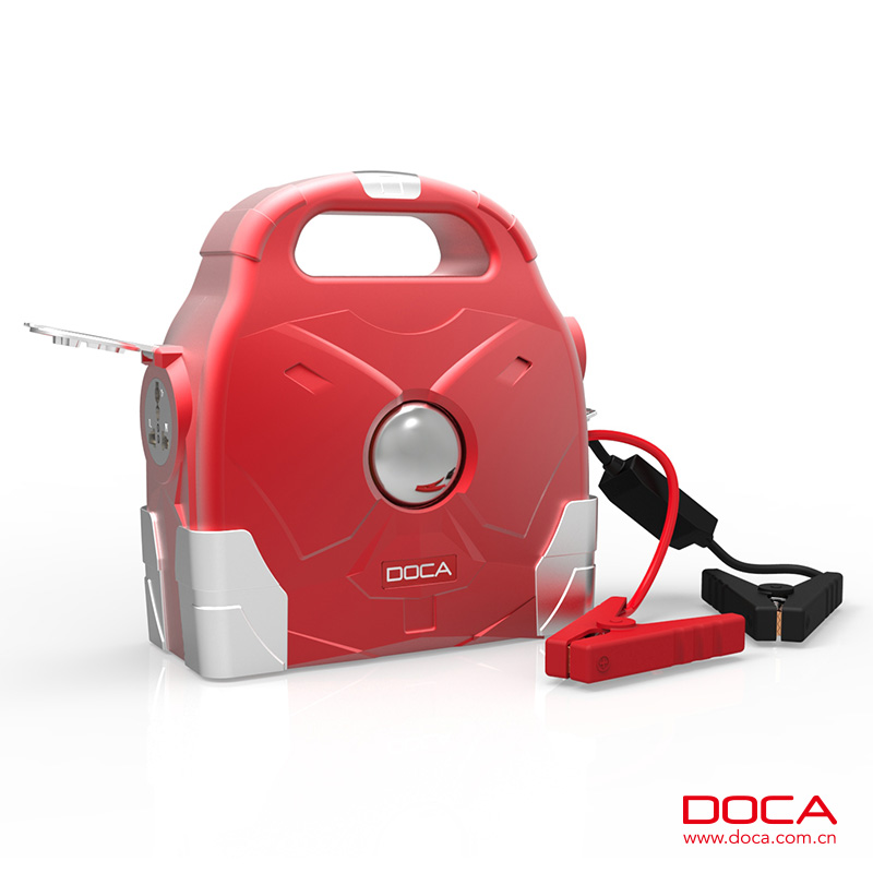 DOCA DG600 multi-function outdoor backup power 95000mAh for home electric appliances