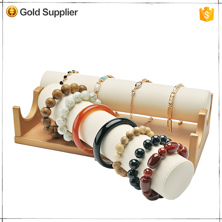 Wholesale cheap modern wood bracelet displays stand