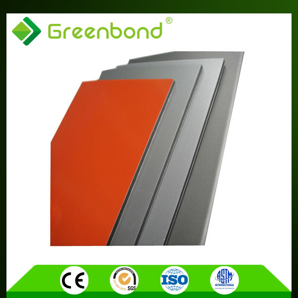 Greenbond colorful pvdf aluminum alloy curtain wall Aluminum Composite Panel