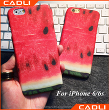 Creative Matte Watermelon Pattern Cover Personality Cute Hard Phone Case For iPhone 6 4.7