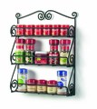 Cabinet or Wall Mounted Spice Rack Storage Organizer