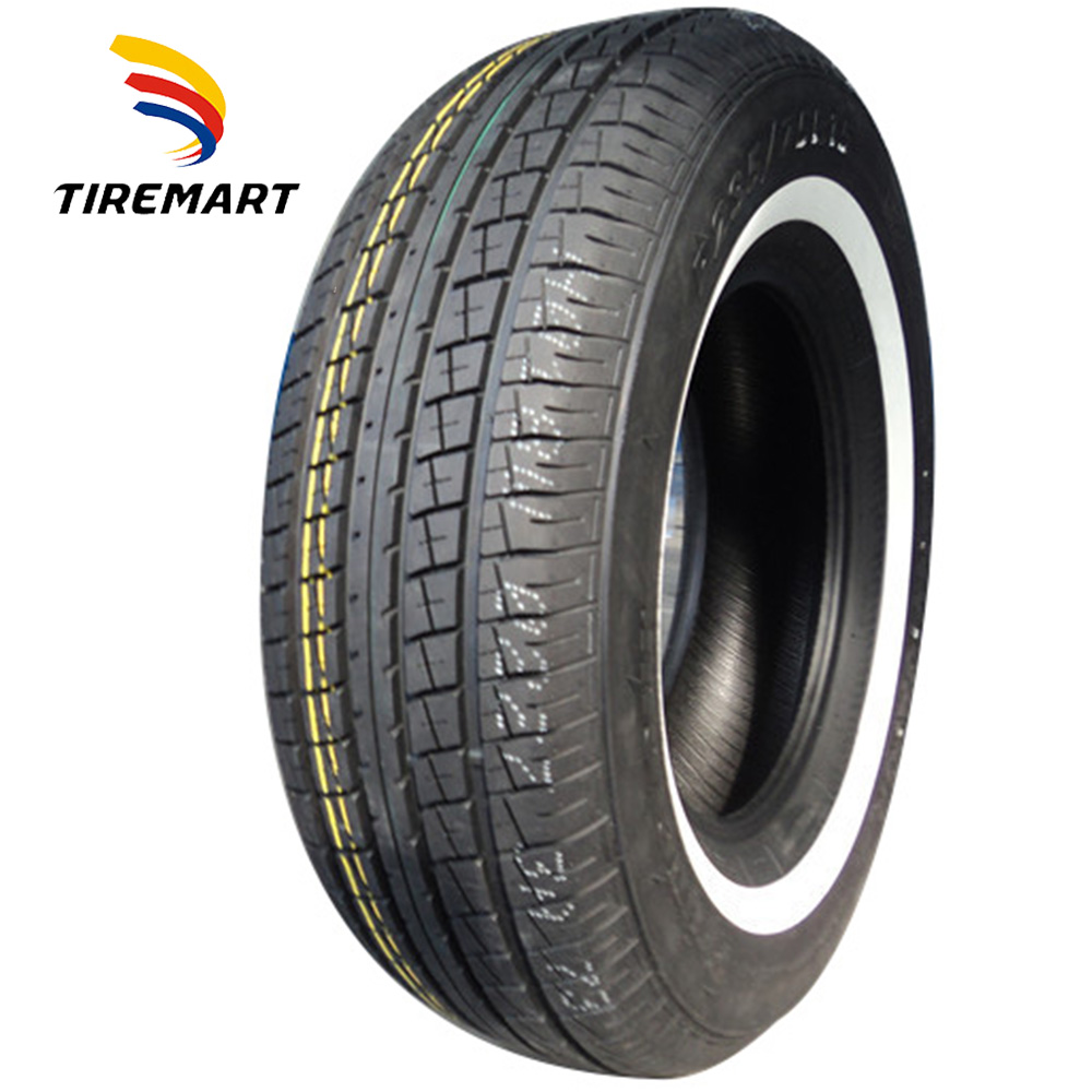 China Cheap New WSW Car Tyres 185R14C White Wall Tyre
