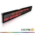 P.H 7.62 Two-lines or single line USB led programmable sign LED display board