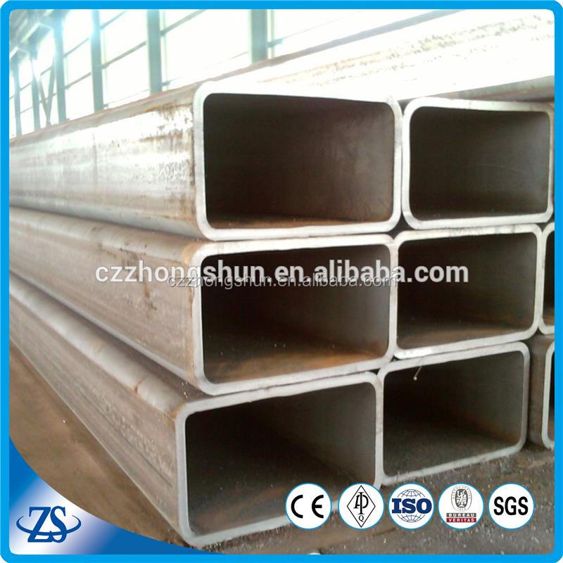 180*180 astm500 carbon seamless square rectangular steel tubing