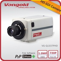 Compact and convenient Box Camera 1.0 Megapixel CMOS with WDR function SDI camera