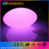 High quality PE plastic material led light magic spinning ball