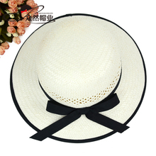 New Products Fashion Customized Paper Made Sun Hat Ladies Dress Hats Wholesale