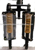 Chongqing motorcycle tricycle,Double pole front shock absorber