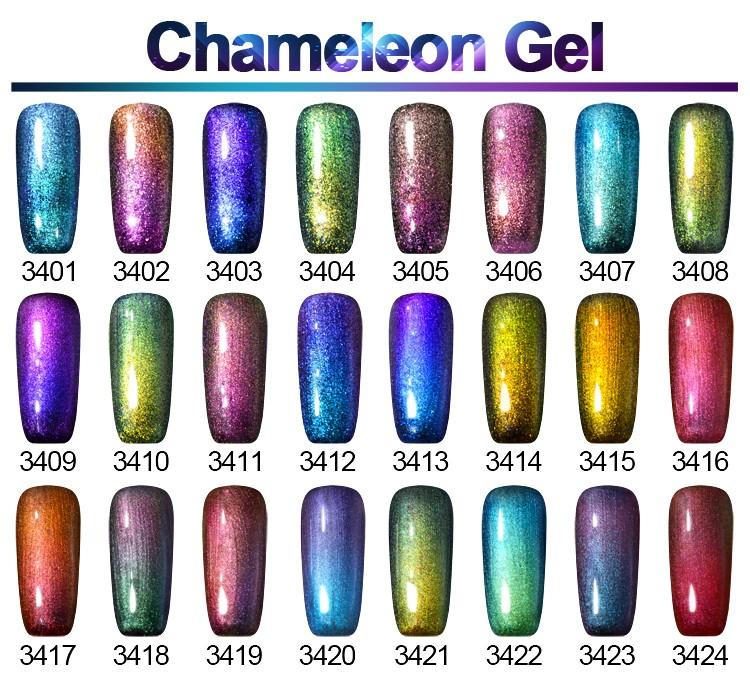 L&M Bulk Package Color Gel Polish Chameleon Soak Off Gel Polish