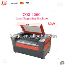 Best design ! universal 80W Latest 4060 CO2 laser engraving machine, routing machine with high quality