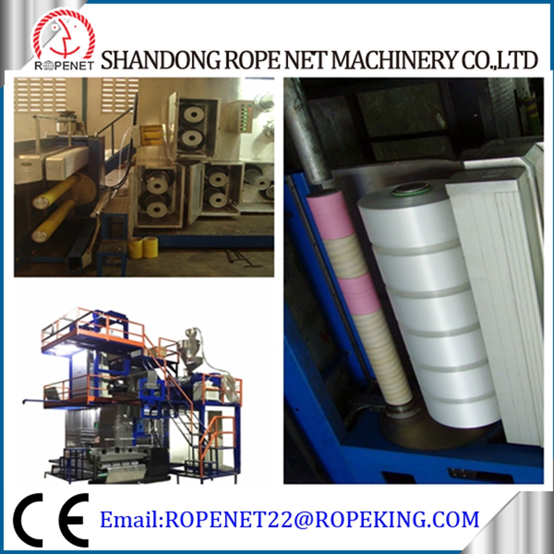 PP yarn machine multifilament machine pp yarn extruder/fdy intermingle extruding machine for sale email:ropenet22@ropeking.com