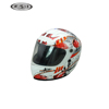 Best quality ABS full face decal toy helmets gift mini helmet for motorcycle