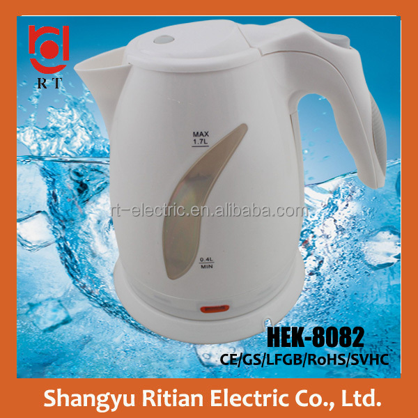 electronics <strong>appliances</strong> 1.7L teapot cordless large plastic electric kettle