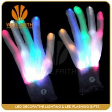 LED flashing light glove Light up rave glove factory make up led gloves