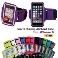 "Newest Sports Running Armband Case Workout Armband For iPhone 6 4.7"" Cell Mobile Phone Arm Bag"