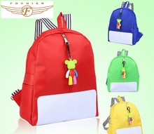 Classic simple girls school backpack
