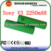 Good sale for SonyV3 18650 2250mAh battery rechargeable battery for Sony