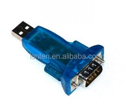 new USB 2.0 to RS232 Serial DB9 9 Pin Adapter Converter