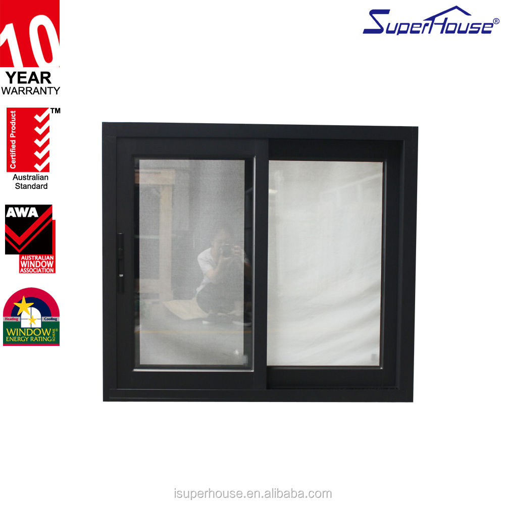 Australia standard cheap price aluminum slide window design sliding window with Germany hardware