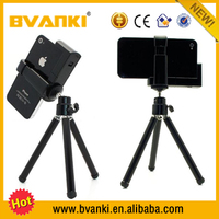 Mini Tripod With Phone Holder,Mobile Clip Universal Mobile Cell Phone Camera Tripod Stand Holder Phone Holder