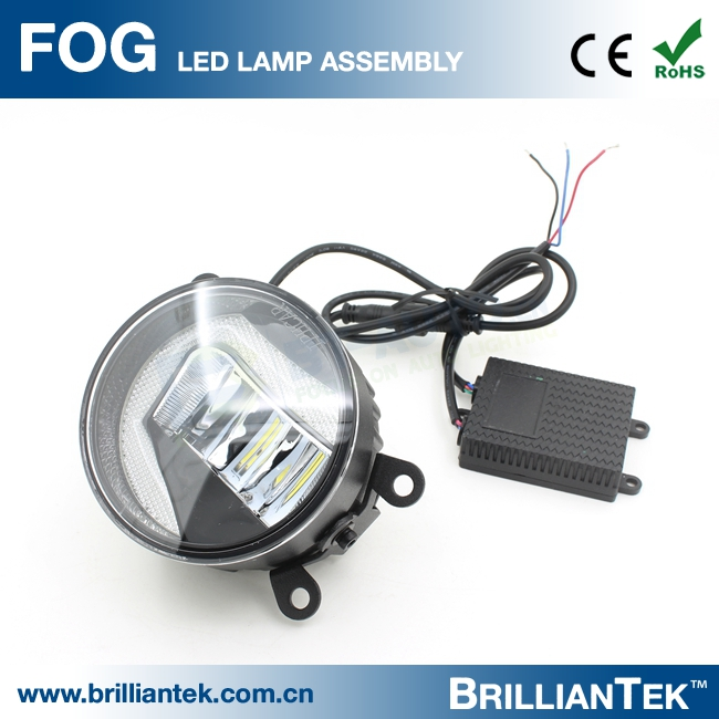 Professional Flat/Plane 3.0 Inch Car 15w LED Projector Lens DRL Fog Light from China Golden Supplier