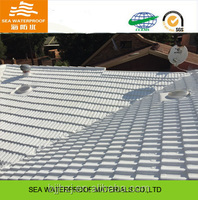 Acrylic roof waterproof coating with UV-reflection