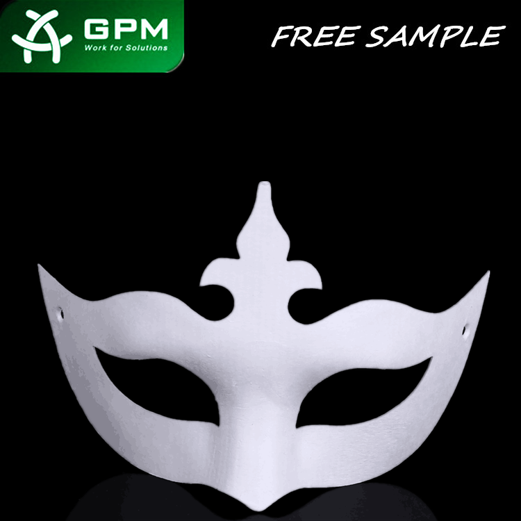 2017 Factory Wholesale Bulk Half Face Mask Masquerade halloween Masks for party