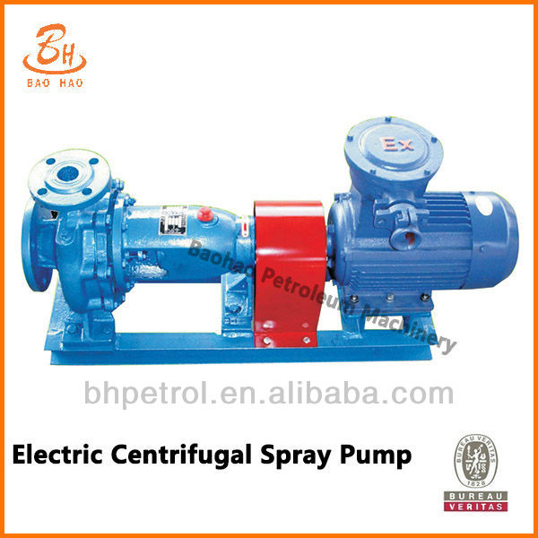 Electric Centrifugal Spray Pump For Mud Pump Lubrication System