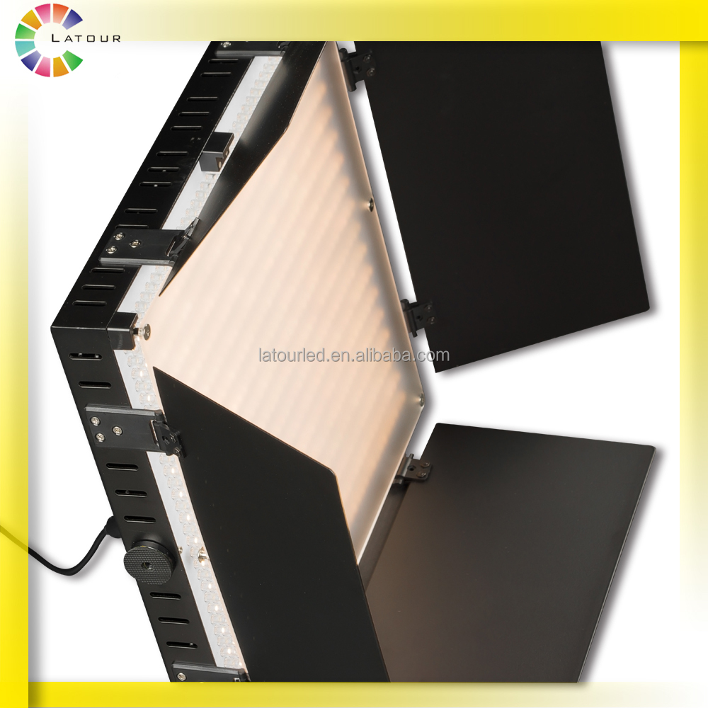 High focus studio panel light with wireless remote control 3200K-5600K led photo video light