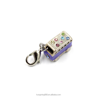 2016 Fashion Style Metal Keychain Car Customized Wholesale