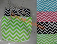 Oversize Large Canvas Tote Bag w/ Pocket Shopping Diaper Dance Beach Gym Chevron STOCKS!!!