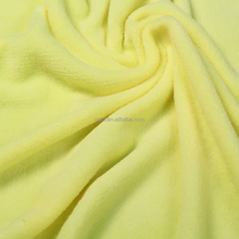 Double coral fleece blanket fabric