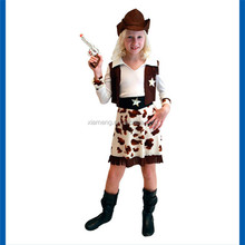 Handsomely west cowboy halloween costumes for children