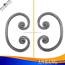 AB decorative wrought iron c scroll