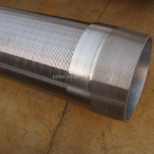 stainless steel pipe tube johnson wedge wire price list