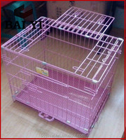 Metal portable dog cage for cheap sale
