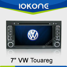 7'' HD Double din Touch screen In dash Car DVD player for Volkswagen Touareg 2003-2009