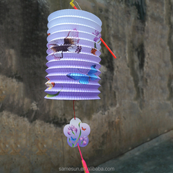 Mid-Autumn Festival Handmade Organ Paper Lantern Outdoor Decoration