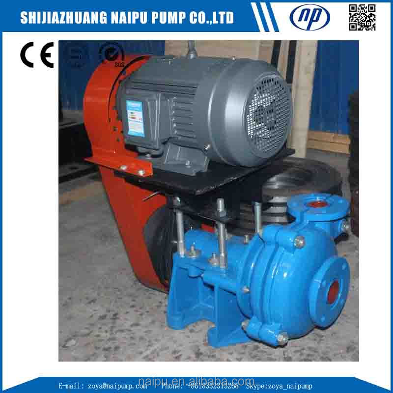75C-L Open Impeller Slurry Pump Gold Mining Dredge Pumps