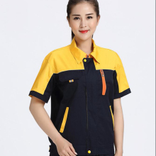 2019 Grey color workwear safety welder clothing <strong>orange</strong> welding uniform